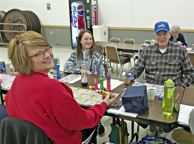 Picture of people playing Bingo